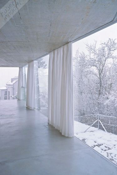 House with one Wall by Christian Kerez, Zurich, Suisse