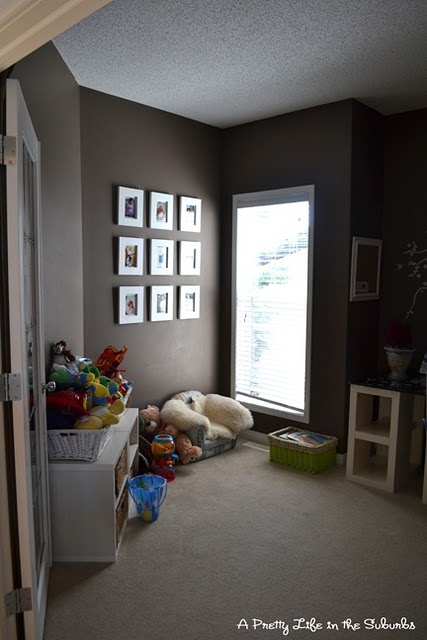 fill up wall with photos