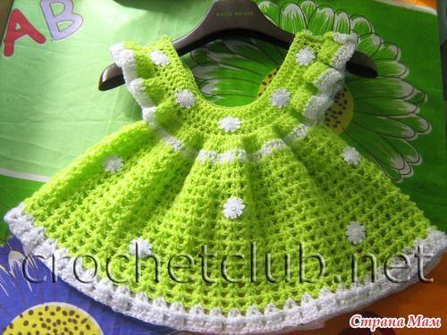 Наряды для самых маленьких принцесс - Вязание для детей - Страна Мам