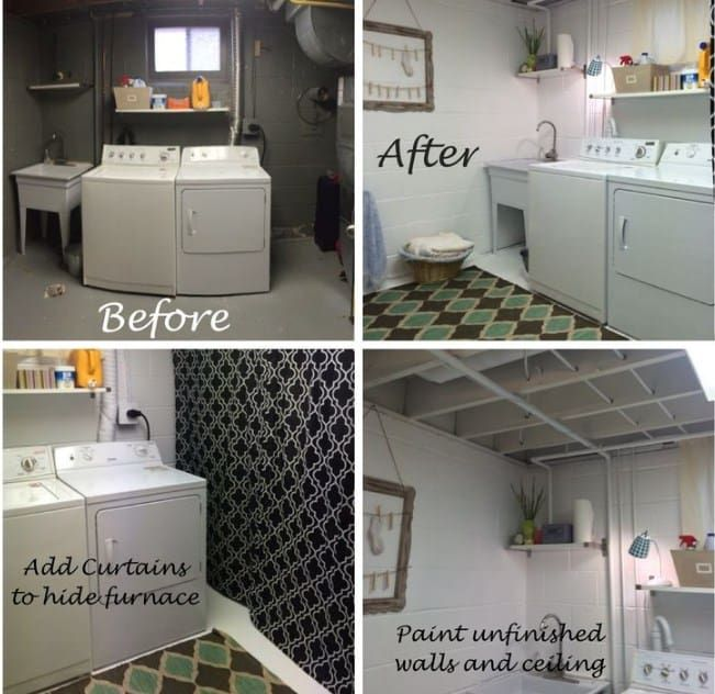 Incredibly Basement Laundry Room Inspiration Ideas Architecture