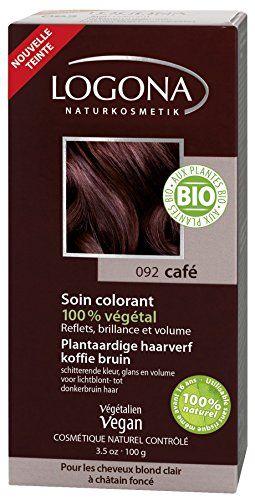 LOGONA Soin Colorant Café 100 g: A base d'indigo, ce soin apporte de légers reflets cendrés et permet surtout de foncer la base et de…