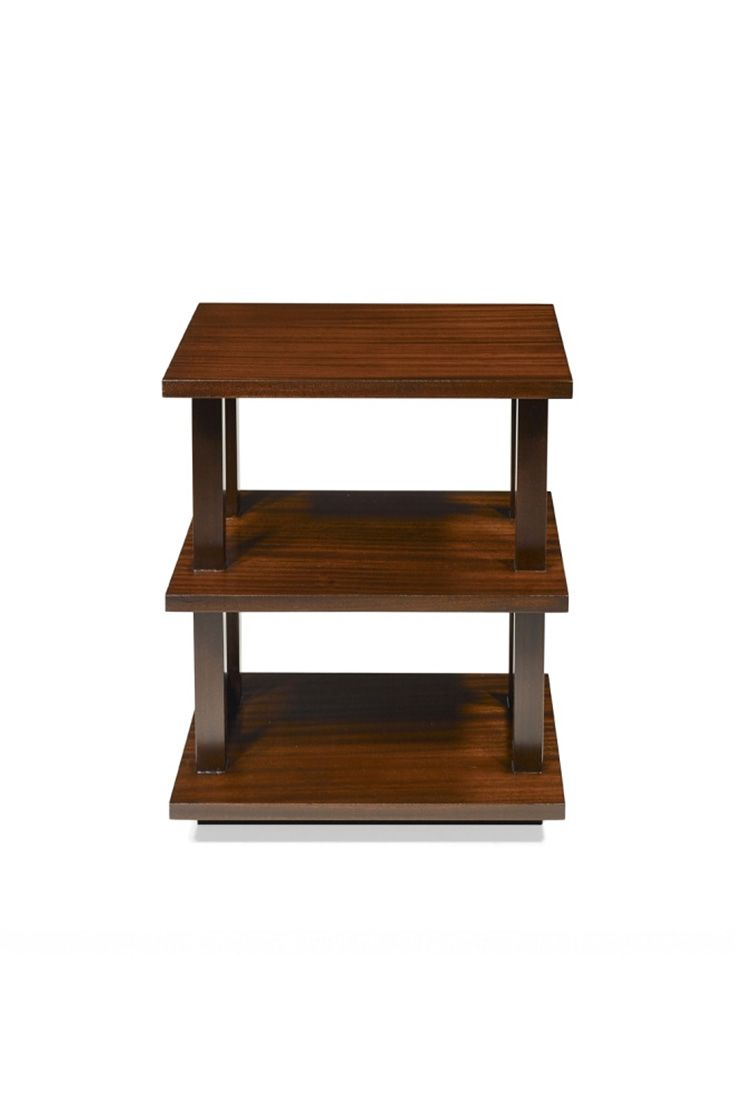 Blow is an occasional table shown in Mahogany with a Dark Mahogany finish.