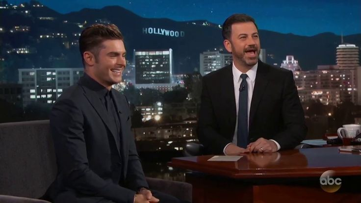 """Jimmy Kimmel's FULL INTERVIEW with Zac Efron - """"Baywatch""""  May 24, 2017"""