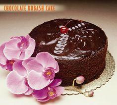 Chocolate Dobash Cake Recipe  ~Another amazing cake from my childhood!