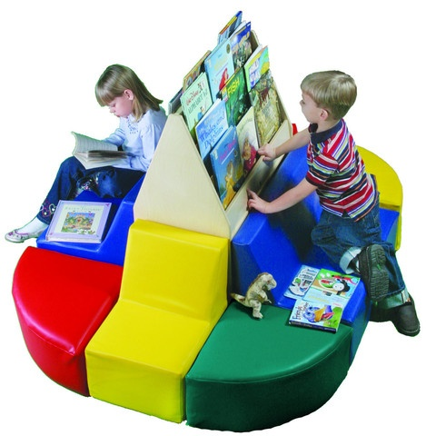 Toddler Reading Station W/Library