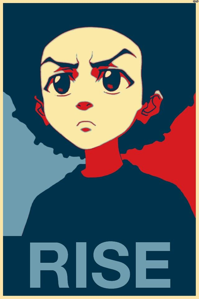 We all must rise #Huey Freeman #Boondocks
