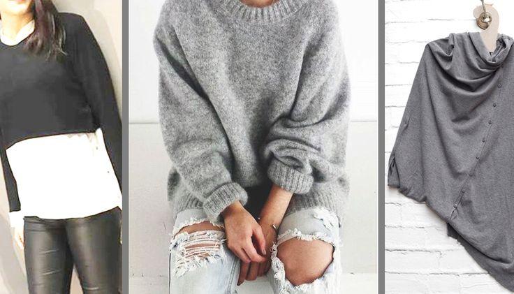 Πώς+να+φορέσετε:+Πουλόβερ+&+Μπλούζες
