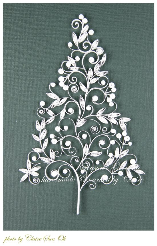 christmas Tree & Bell Card : 네이버 블로그