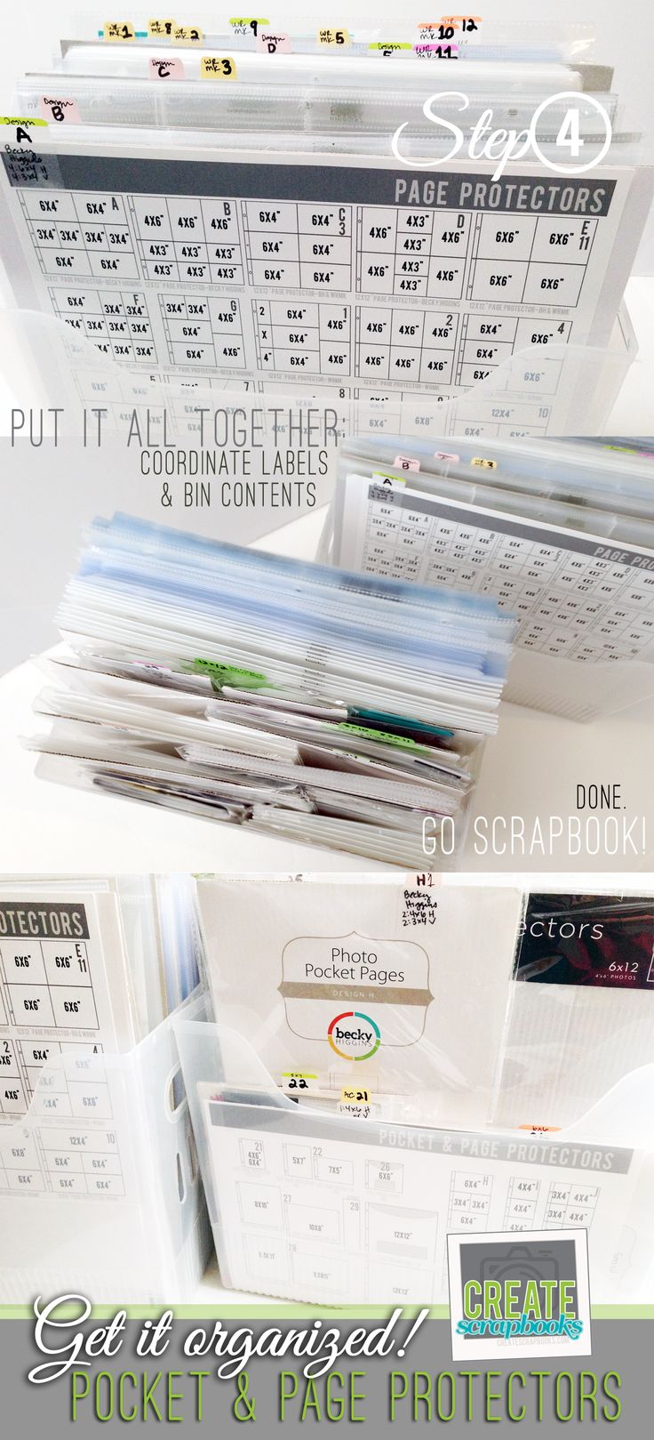 Scrapbook ideas step by step - In 4 Easy Steps Createscrapbooks Com Gives You Step By Step Instructions On