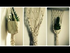 Makramee Blumenampel * DIY * Macrame Plant Hanger [eng sub]. Link download: http://www.getlinkyoutube.com/watch?v=laWF8qG_EAE