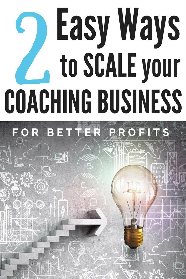 Savvy #coaches have figured out how to scale their #business to earn nearly unlimited income, and you can, too. Here are the two most common ways... #coaching