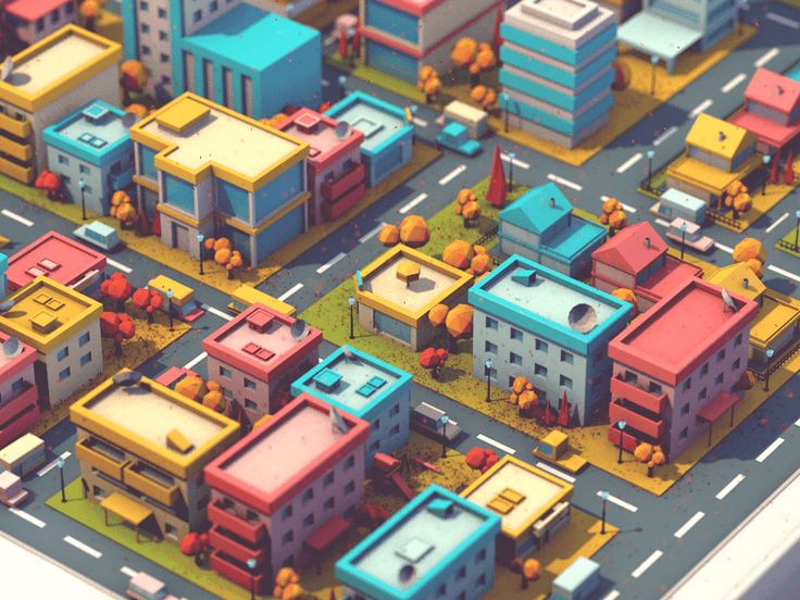 Autumn In Town by Aslan A. #Design Popular #Dribbble #shots