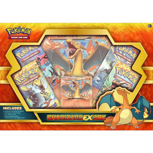 Charizard EX Collection Box Pokemon TCG Cards Flashfire Sealed Packs  Promo
