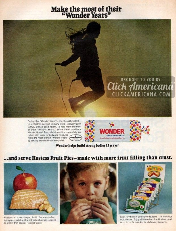 Hostess Fruit Pies  Wonder Bread (