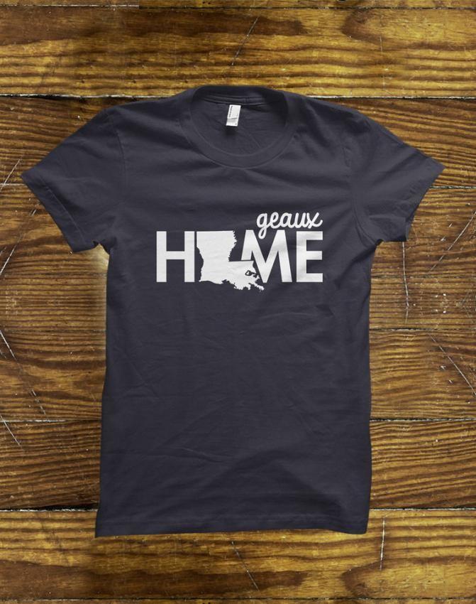 Lovely Louisiana T-Shirt on BourbonandBoots.com #louisiana #louisianatshirt #shopping #lsu