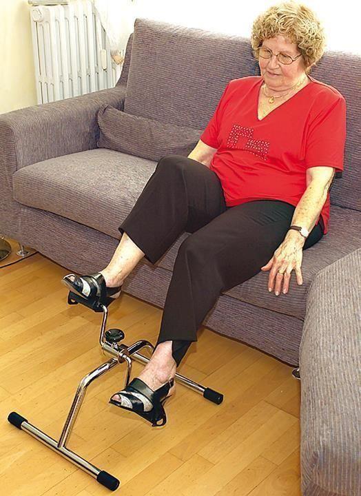 Pedalier Ejercicio para personas que quieran ejercitar piernas y brazos.