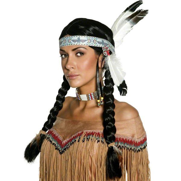 Fancy Dress AccessoriesNative Indian Wig£10.99each