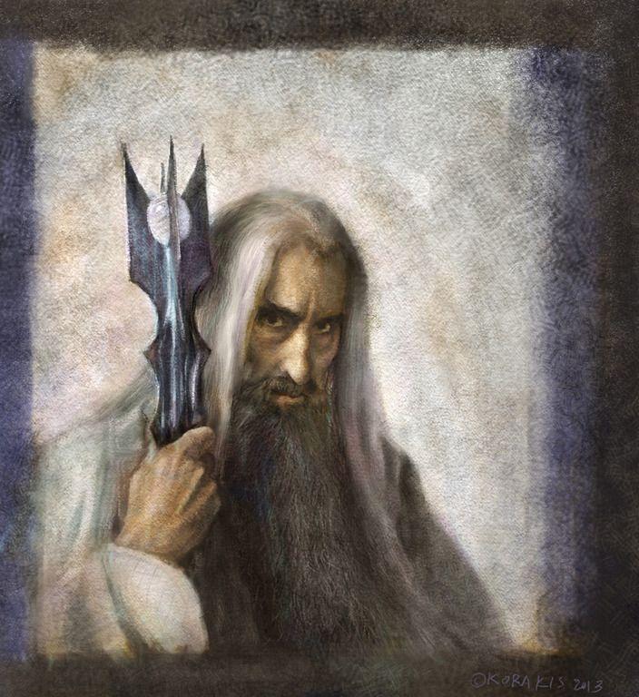 Saruman by alexkorakis.deviantart.com on @DeviantArt