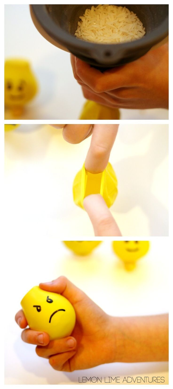 Lego Calm Down Sensory Balloons