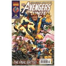 The Avengers United #20 from Marvel/Panini Comics UK. 20th November 2002 issue. In very good/4.0 condition. Bagged and boarded. £1.00
