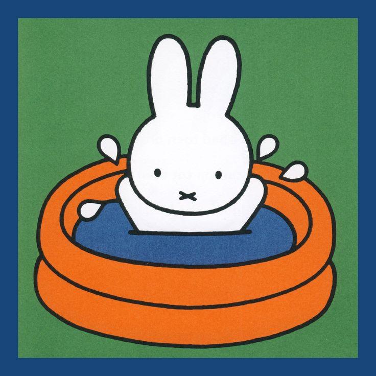 Nijntje zwemmen