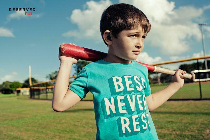 Reserved Kids SS16 #summer#prints#t-shirt#baseball#play#games