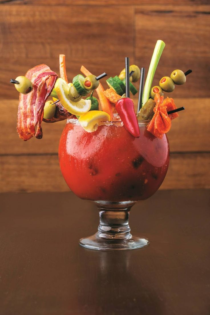 The Bloody May from Guy Fieri's Vegas Kitchen