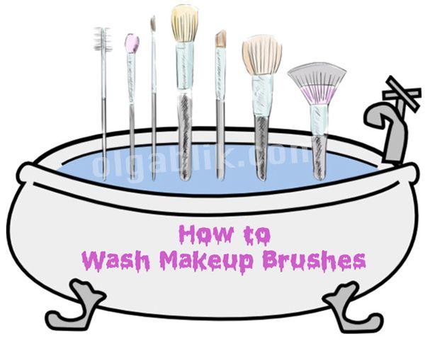 Как часто очищать? Как правильно сушить? И чем мыть кисти для макияжа?