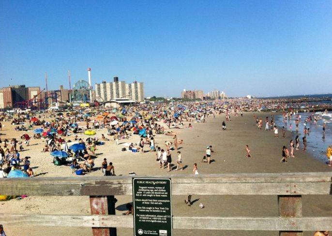 Top Five Coney Island beach pier