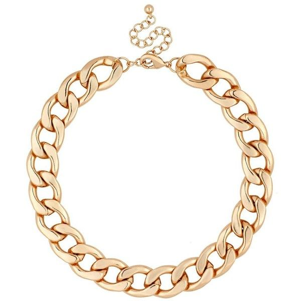 Online exclusive chunky gold chain necklace