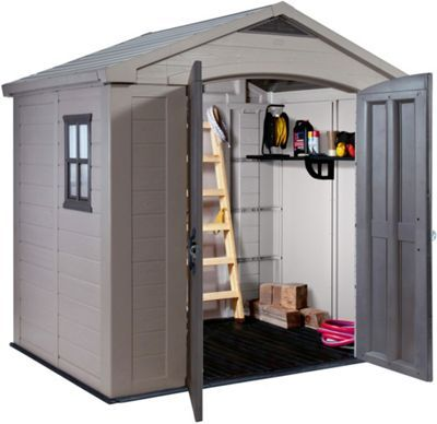 Buy Keter Apex Plastic Garden Shed 8 x 6ft at Argos.co.uk, visit Argos.co.uk to shop online for Sheds