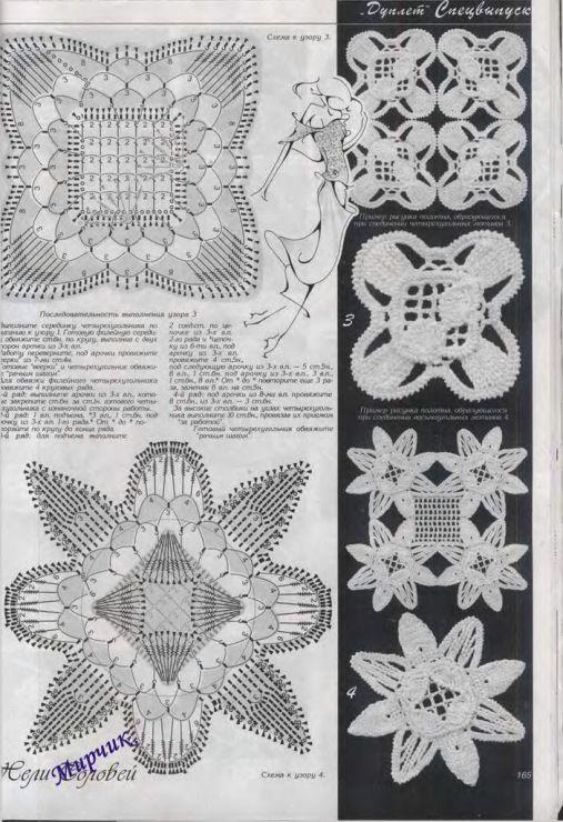 Free Irish Crochet Motif Patterns Gallery Knitting Patterns Free