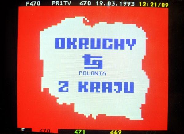 Telegazeta, 1993 rok (fot. I. Sobieszczuk / TVP)
