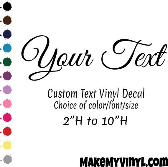 how to create vinyl wall decals