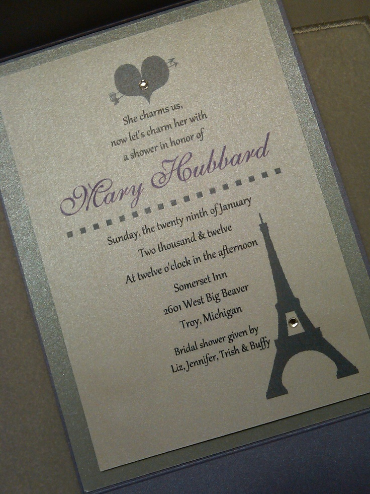 Bridal Shower Invitations Vistaprint