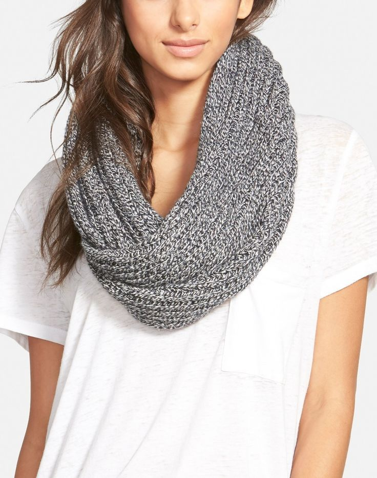 cozy ribbed infinity scarf / @nordstrom #nordstrom