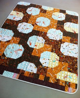 tide pools quilt by jennifer of thatgirlthatquilt.com.: Mendocino Bowties, Patchwork Snowball, Pools Bowtie, Bow Ties, Bowtie Quilt, Tide Pools, Quilts Bowtie, Baby Quilt