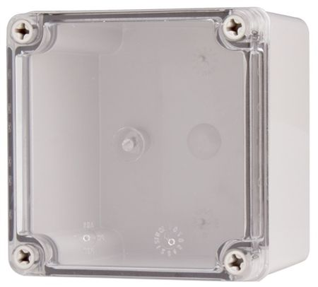 Boxco Bc Cts 121207 Enclosure 125x125x75 Clear Screw Cover Polycarbonate Steel Wall Enclosure Wall Mount Bracket