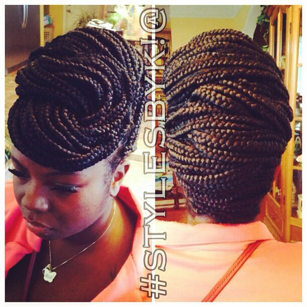Wedding Hairstyles With Box Braids: 72 Best Images About Hair Styles On Pinterest