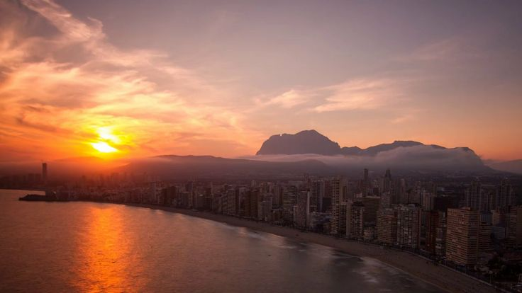 CITY BY THE SEA - Benidorm Timelapse