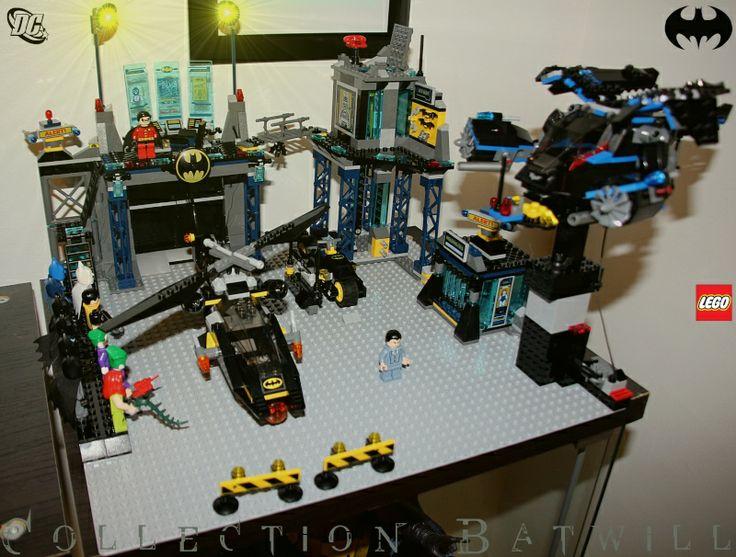 Batman Lego Batcave 2014 custom Lego batmobile, Lego