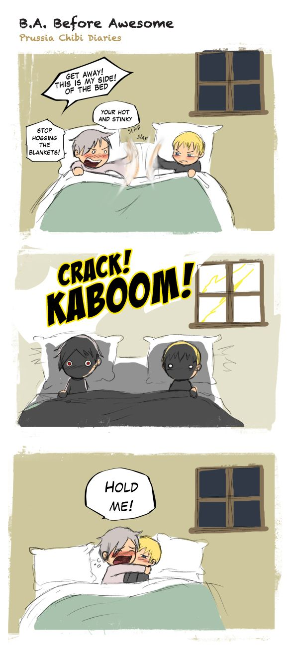 Chibi Prussia Diaries -037- by ~Arkham-Insanity on deviantART