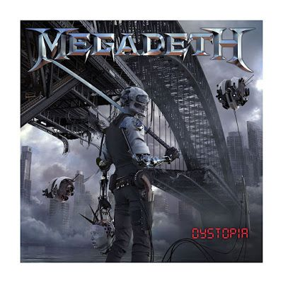 BEHIND THE VEIL WEBZINE: MEGADETH - Dystopia Review