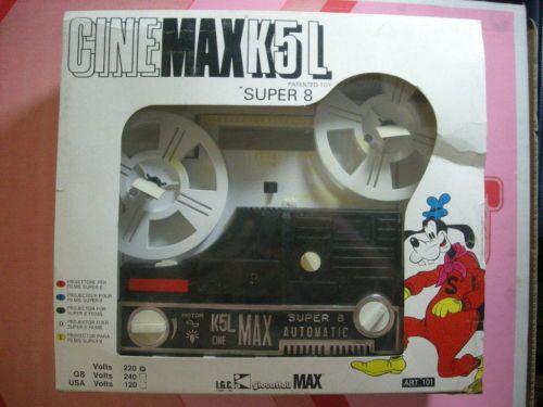 Proiettore Cine Max K 5 L Projecteur Super 8 Toys Cinemax K5L Walt Disney | eBay