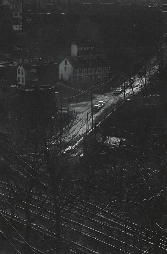 Eugene Smith Panther Hollow from Schenley Park Bridge, Pittsburgh, USA, 1955-56