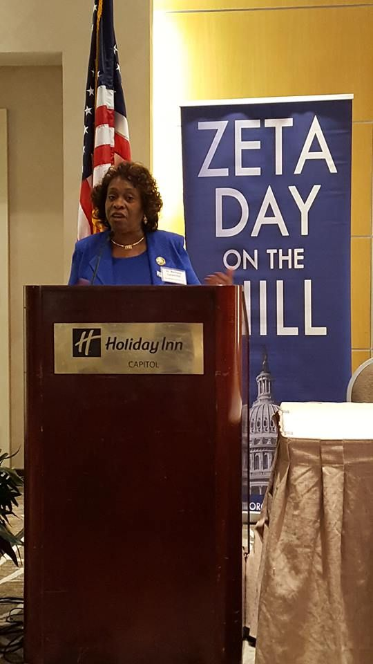Dr. Barbara West Carpenter discusses her election journey to the Louisiana House of Representatives. #ZetasStormtheHill #ZDOTH #ZPHIB1920 2016