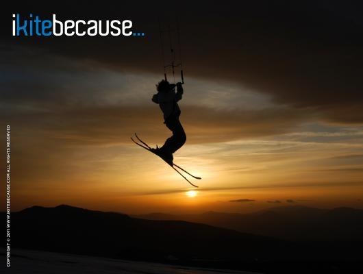 ikitebecause... it's incredible!  | Photo by Lido Hans Lattanzi: http://www.ikitebecause.com/user/lidohans