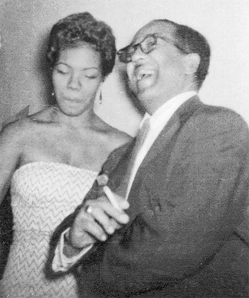 Maya Angelou and 1st husband Thomas J. Tosh Angelos