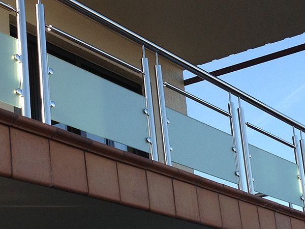 Barandillas de acero inoxidable ideas para el hogar - Baranda de acero inoxidable ...