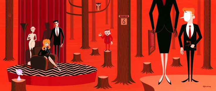 love SHAG! Gorgeous Twin Peaks-inspired art exhibit wants you to Fire Walk With Me